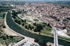 Parque del Cidacos y Catedral