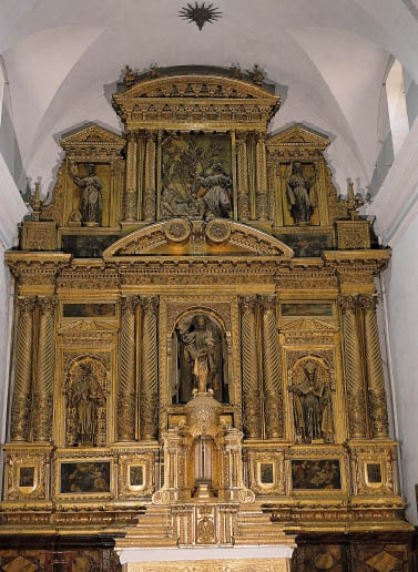 Retablo Mayor de San Francisco